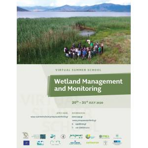 "Virtual summer school on ""Wetland Management and Monitoring"""