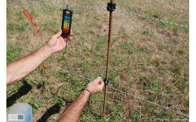 Electric fencing placed in areas of Opagia and Slatina Plateos